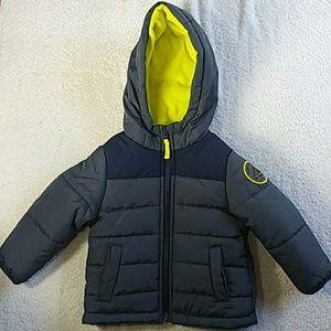 Carter's Navy Blue Puffer Jacket